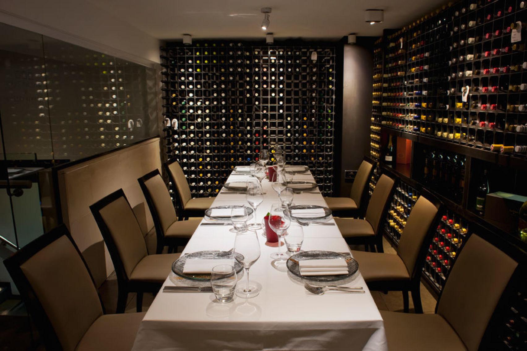 Lunch Sitting, Cellar Room, Benares Restaurant & Bar