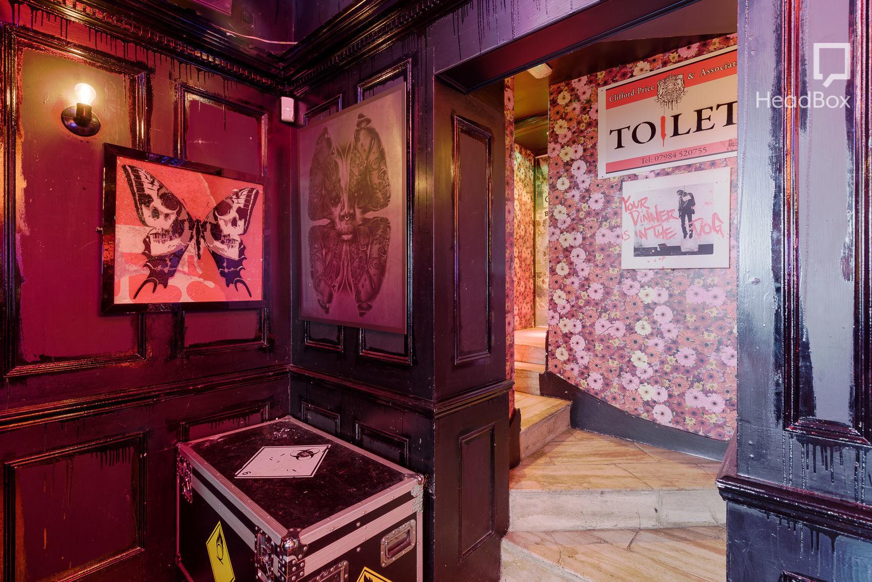 The Scissor Room , The Wellington Club