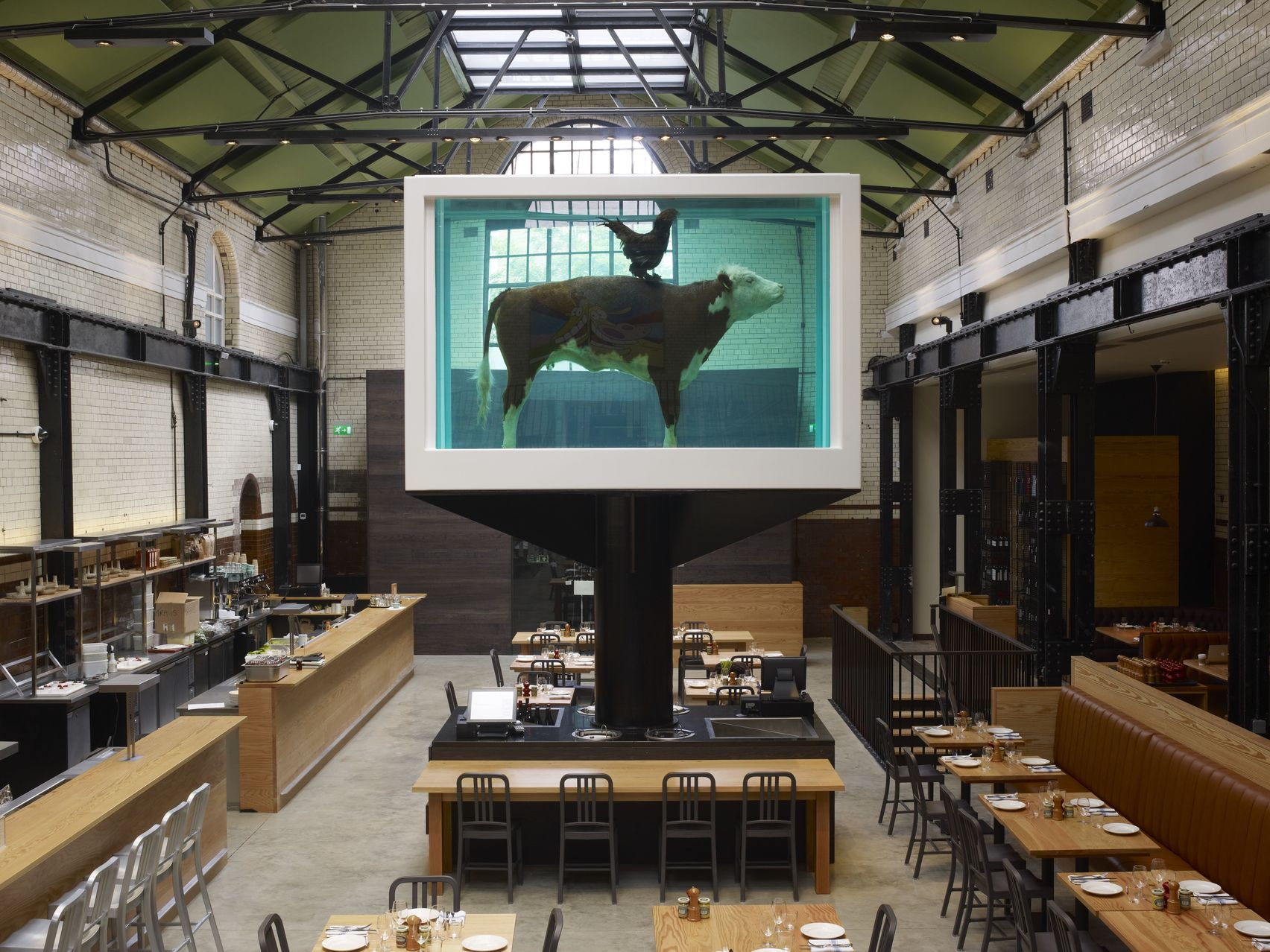 Lunch Hire, Mezzanine, Tramshed by Mark Hix
