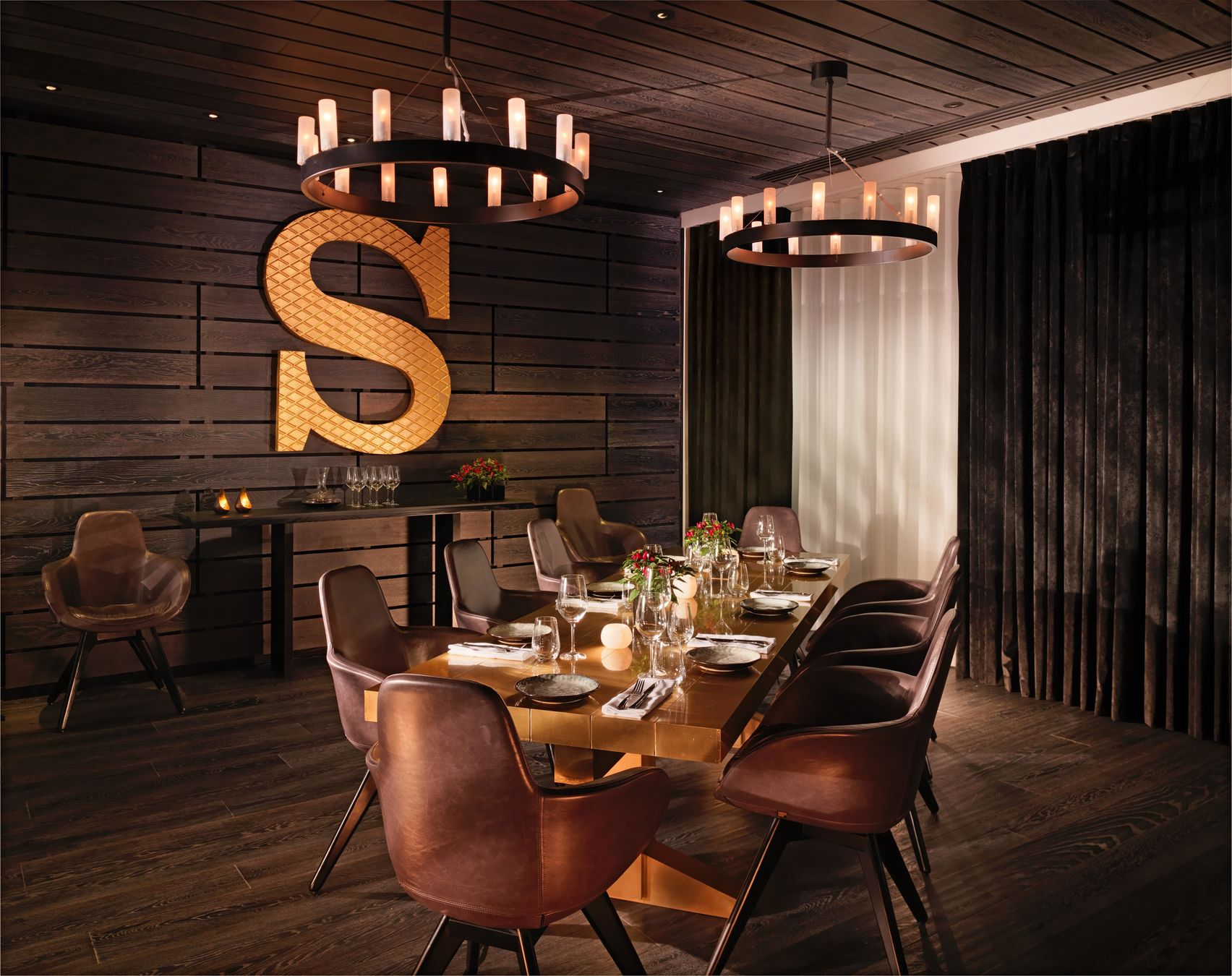 sea containers restaurant private dining room mondrian london - Private Dining Rooms