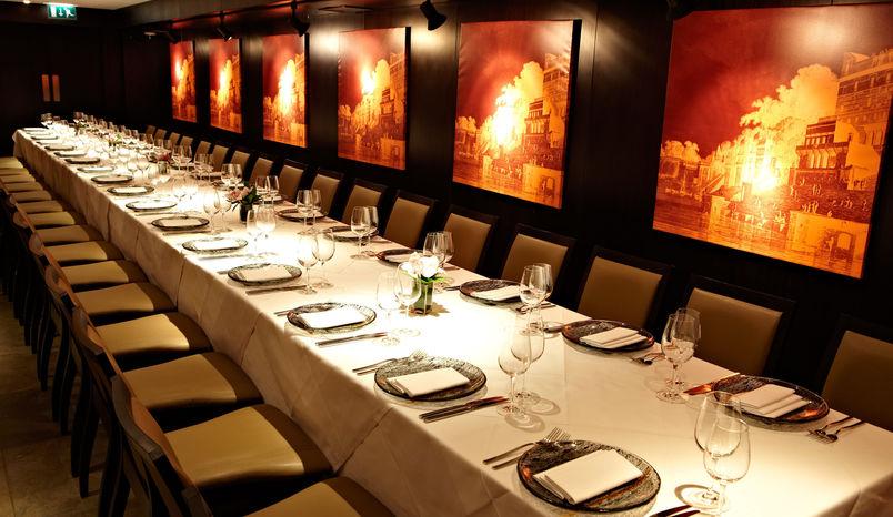 Dinner Sitting, Dover Room, Benares Restaurant & Bar
