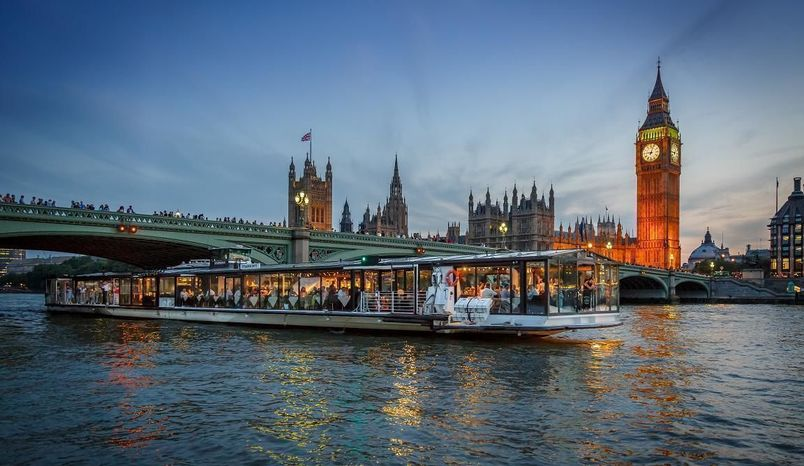 Glass Room | Dinner Sailing, Bateaux London