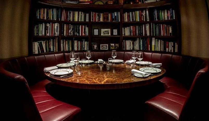 Lunch Sitting, Kitchen Library, Corrigan's Mayfair