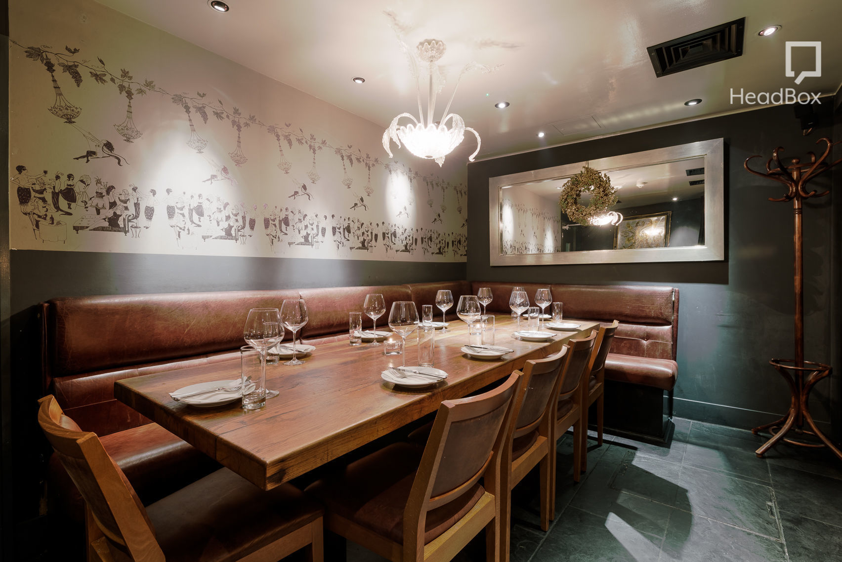 Book Evening Private Dining Room Dehesa London Headbox