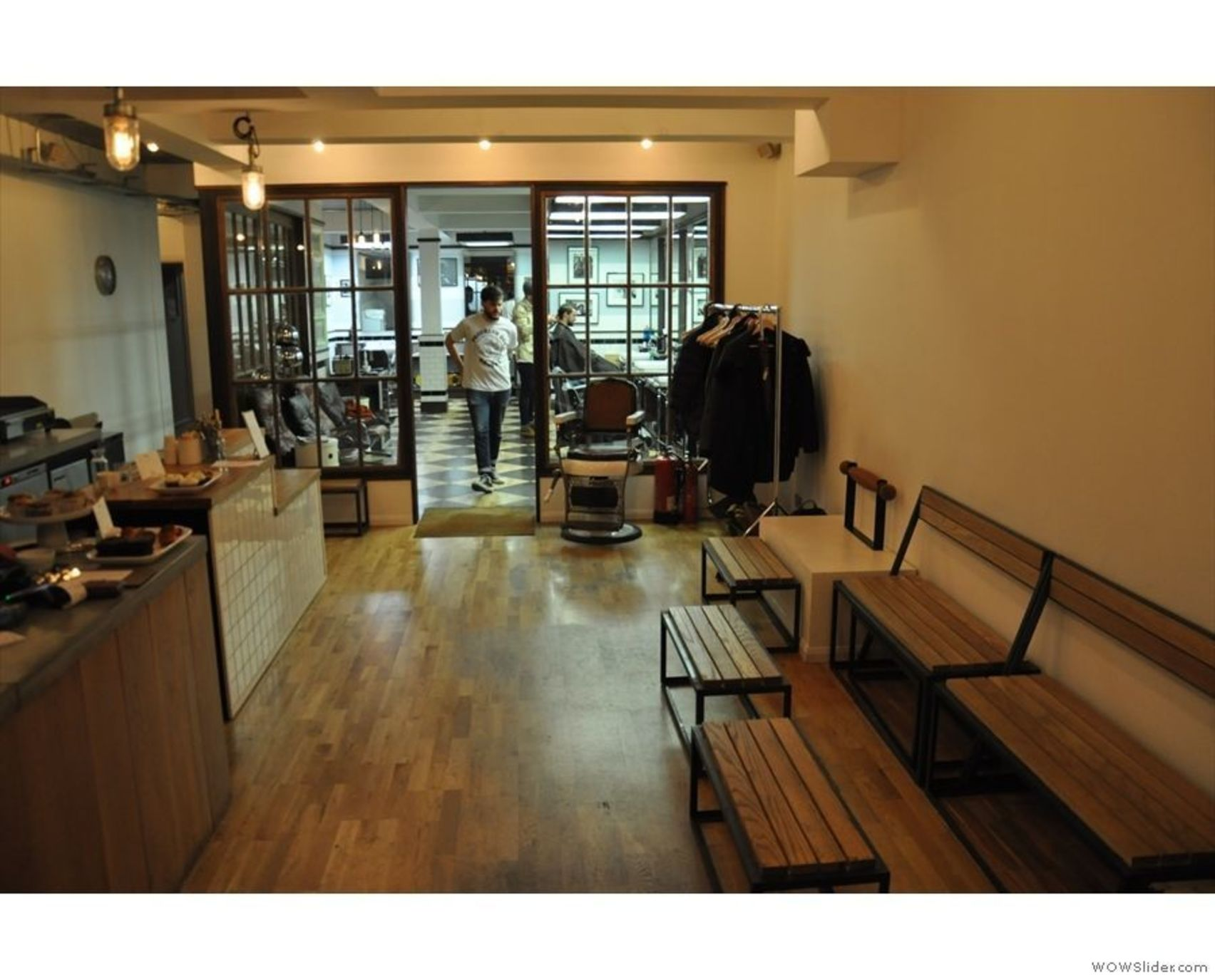 Entire Barber & Cafe, Sharps Barber Fitzrovia