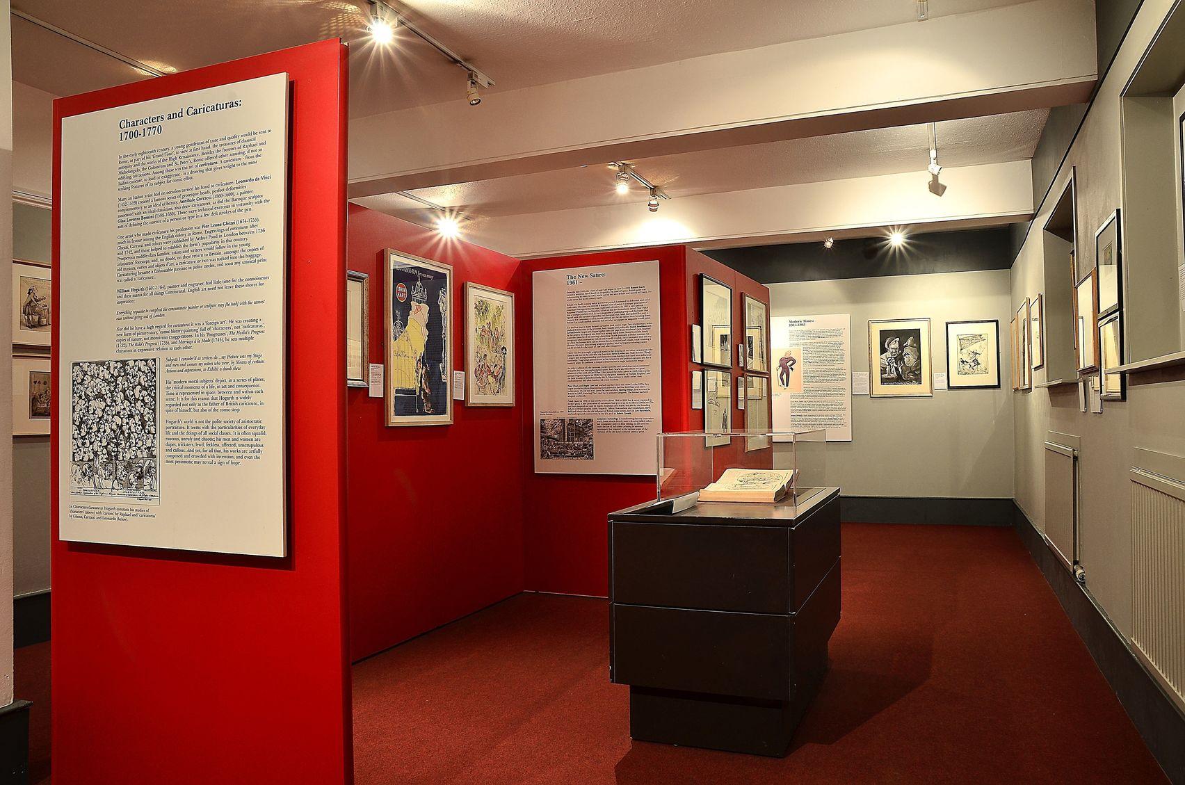 Evening Hire, Full Museum, The Cartoon Museum