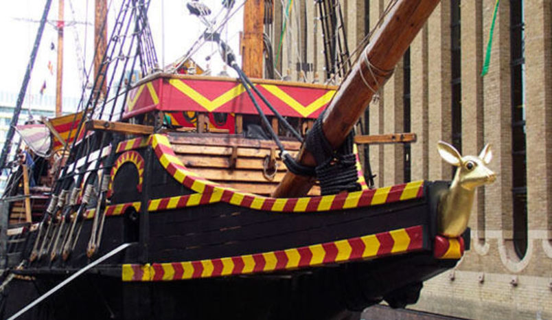 Ship, The Golden Hinde