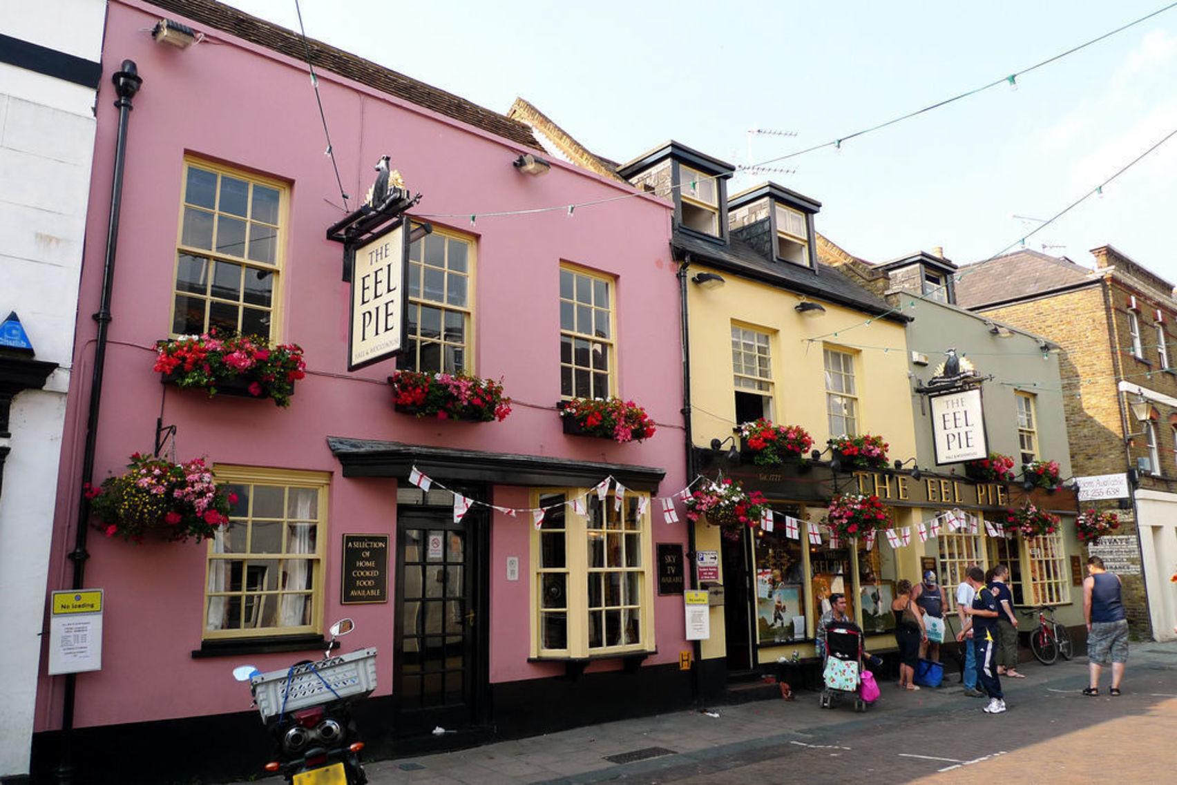 The Eel Pie Pub, The Eel Pie Pub