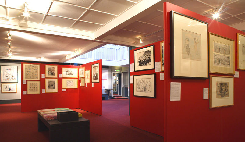 Day Hire, Full Museum, The Cartoon Museum