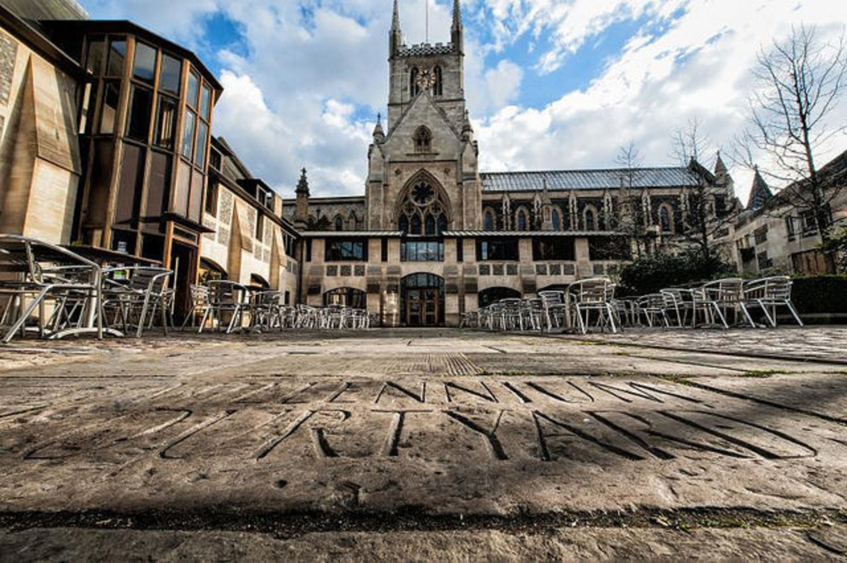 The Millennium Courtyard, Southwark Cathedral