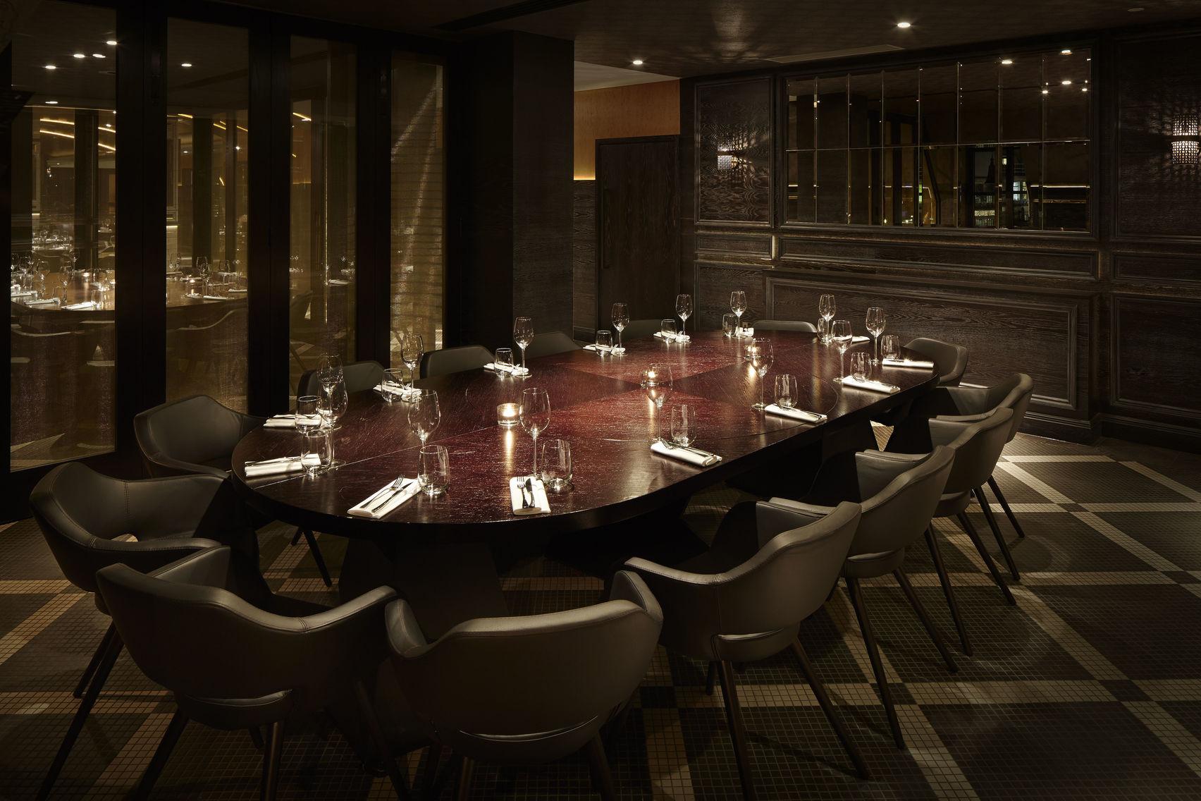 Book dinner sitting la casita aqua nueva london headbox for Best restaurants private dining rooms london