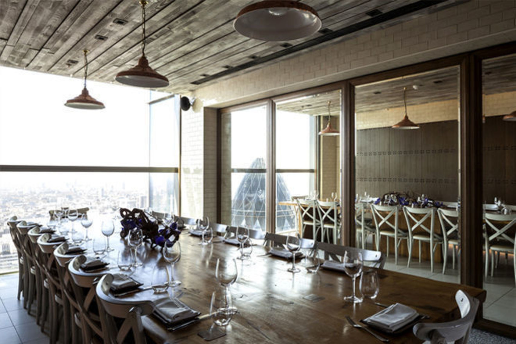 Book Private Dining Room Brunch Duck Amp Waffle London