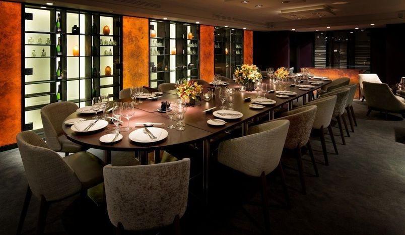 Lunch, Private Dining Room, Salmontini