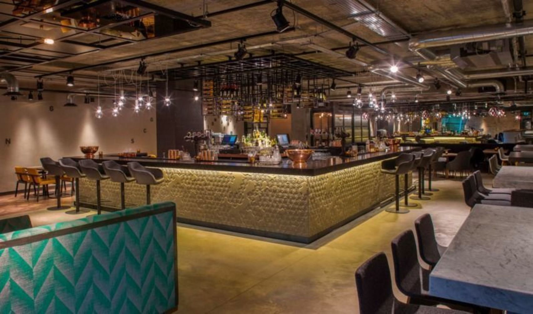 Basement Bar, Day Hire, Drake & Morgan at Kings Cross