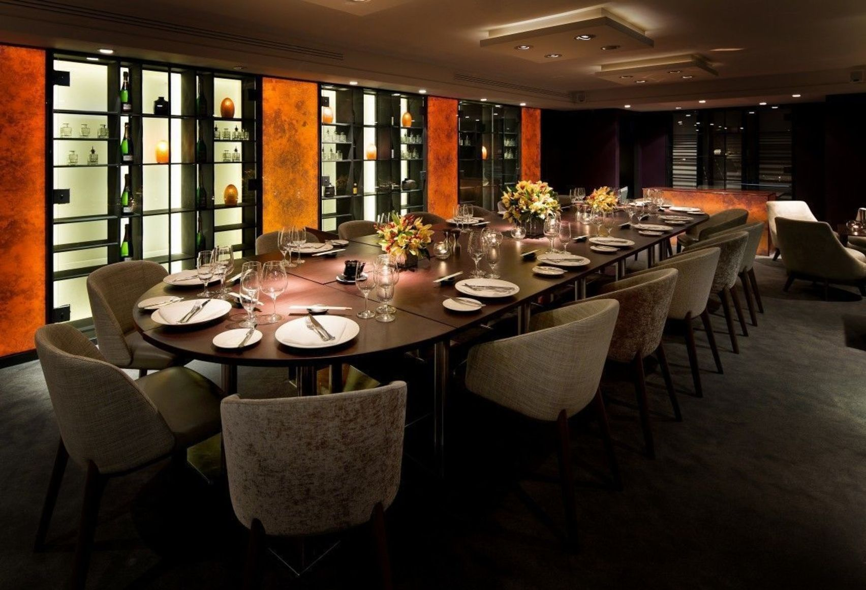 Dinner, Private Dining Room, Salmontini