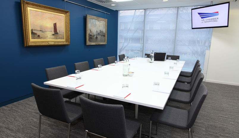 Meeting Room 1, UK Chamber of Shipping