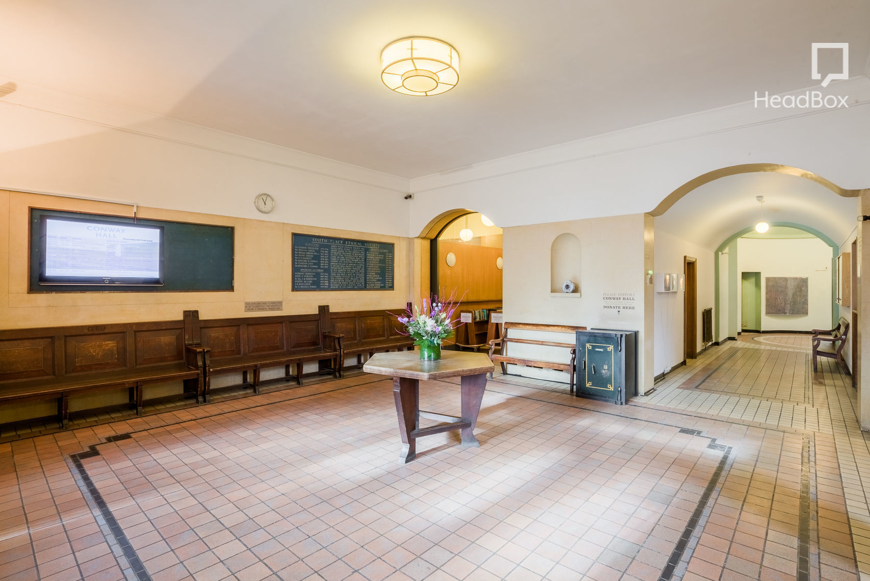 Whole Ground Floor Hire, Conway Hall
