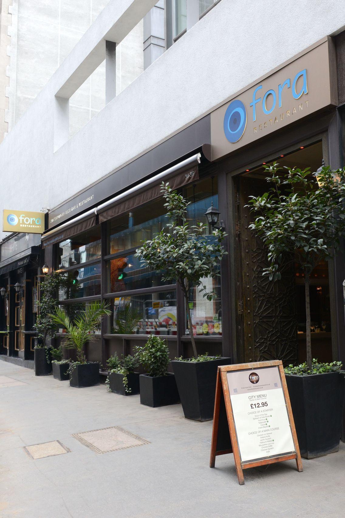 Lunch, Full Restaurant , Fora Restaurant