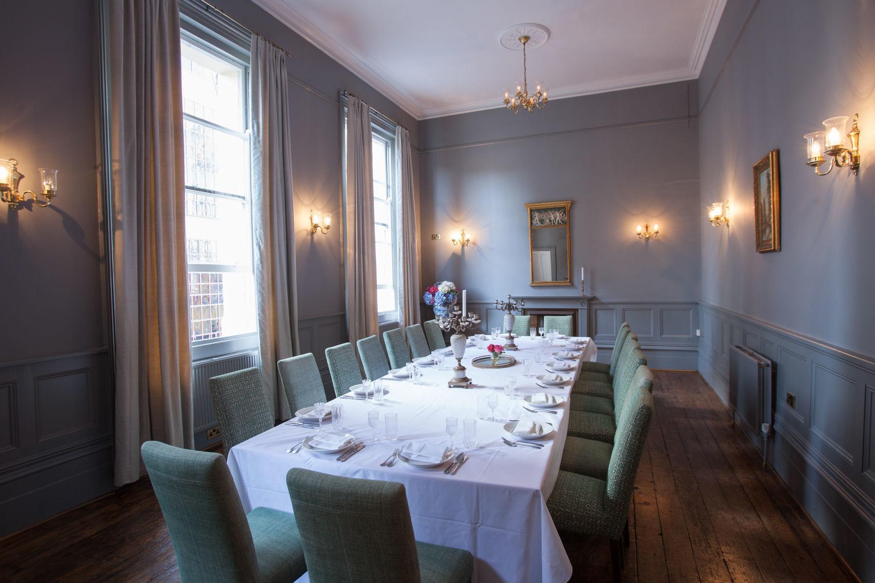 Dinner, Wellington Room, The Dispensary
