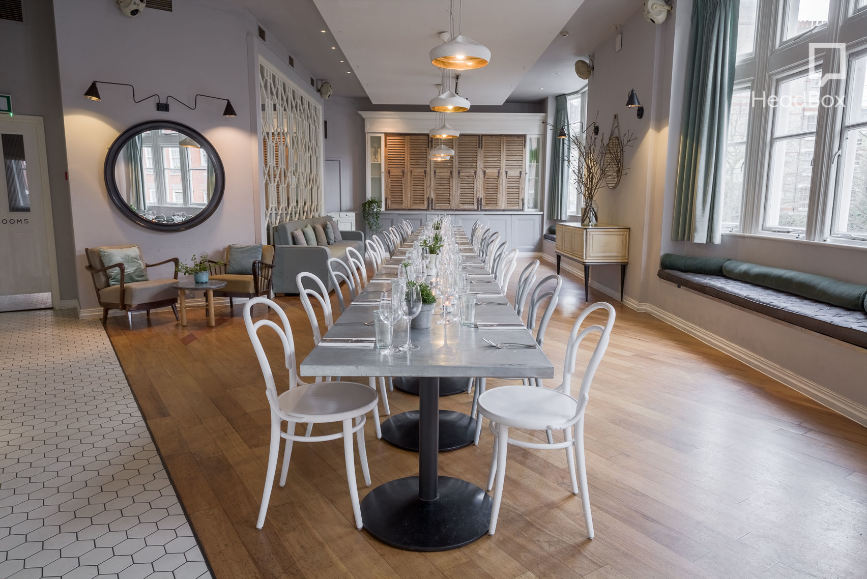 Day Delegate Hire at No.11 Upstairs, No.11 Pimlico Road
