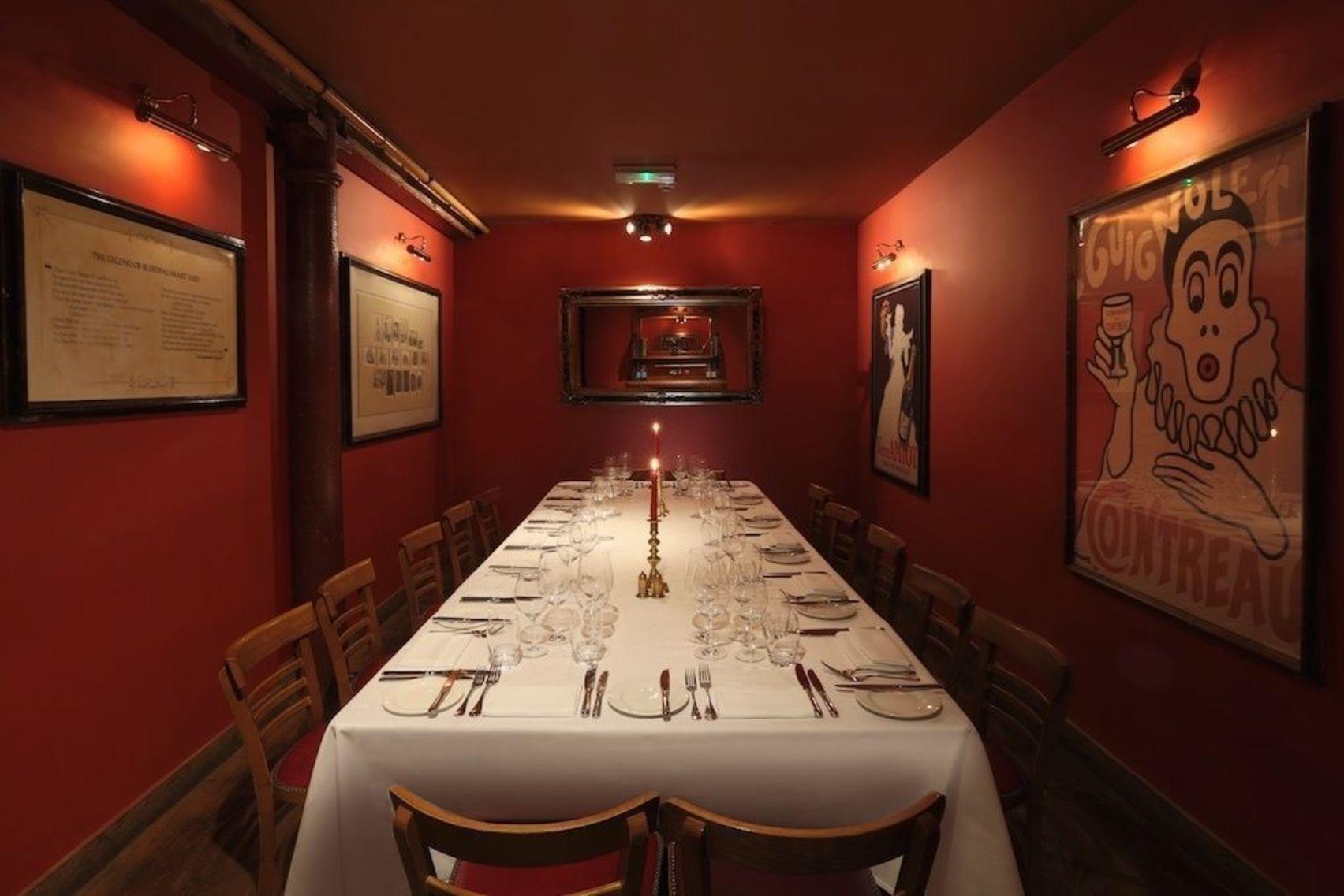 Lunch, The Parlour, Bleeding Heart Restaurants
