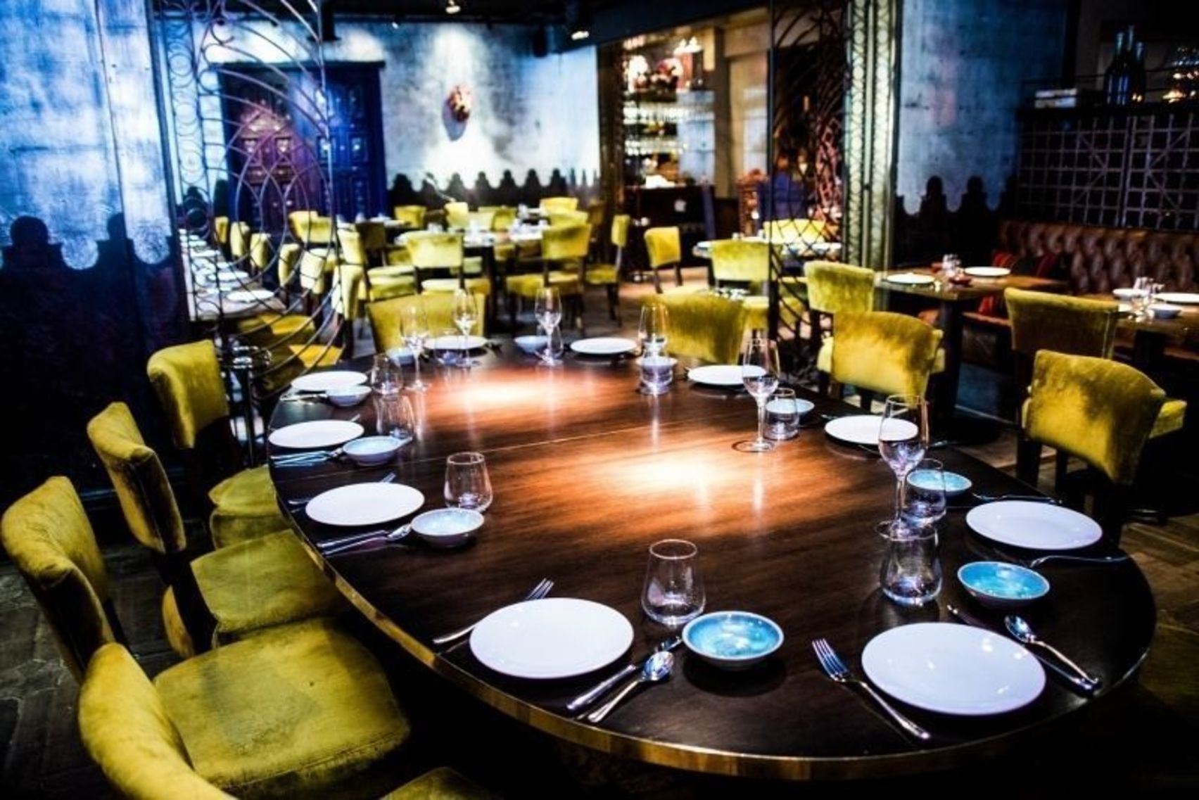 Semi Private Dining, Lunch Hire, Coya