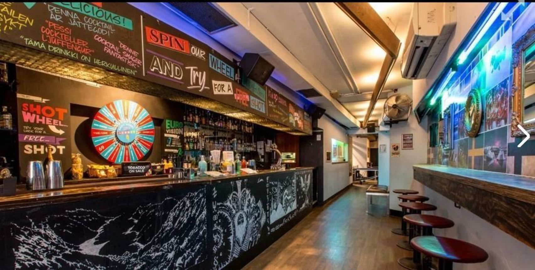 Day Hire, Whole Venue, Nordic Bar