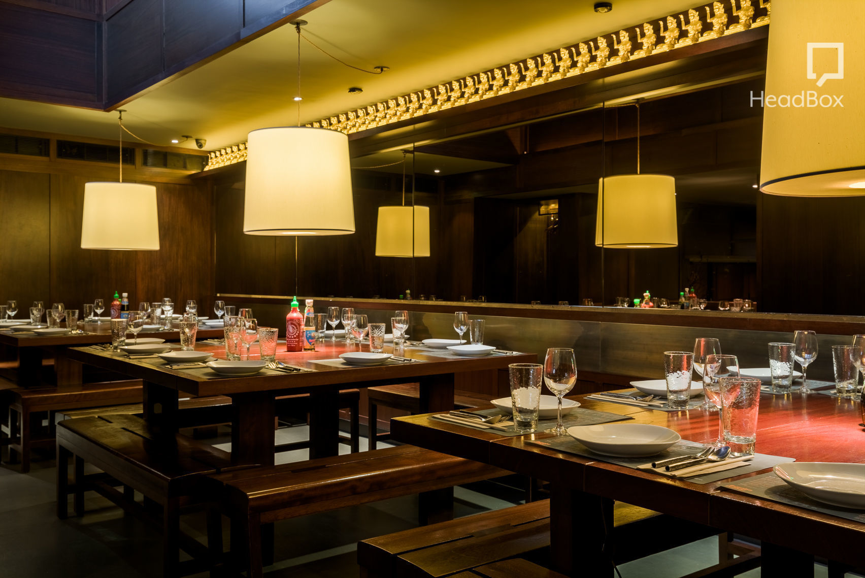 Book private dining room busaba eathai covent garden for Best private dining rooms west end