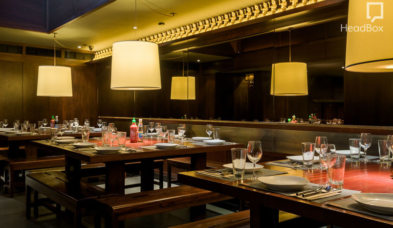 Book private dining room busaba eathai london headbox for Best private dining rooms covent garden