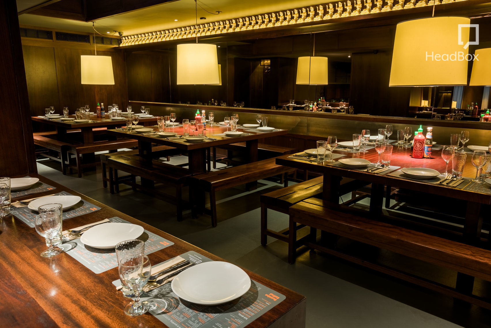 Great Private Dining Room, Busaba Eathai Covent Garden Part 14