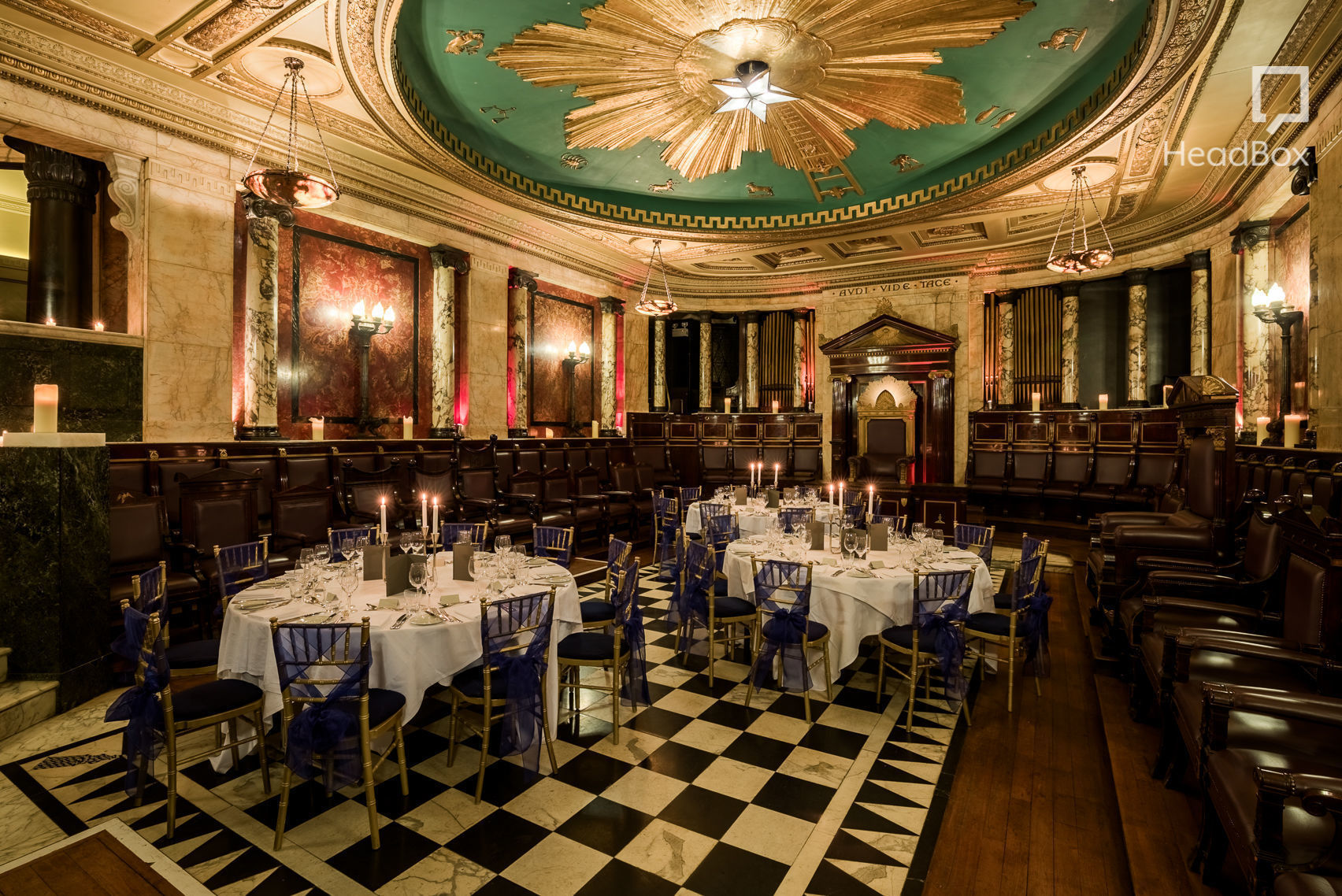 Masonic Temple A Quirky London Private Dining Room To
