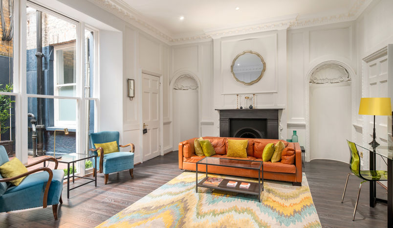 The Boardroom with Courtyard, MeWe 360 2 Soho Square