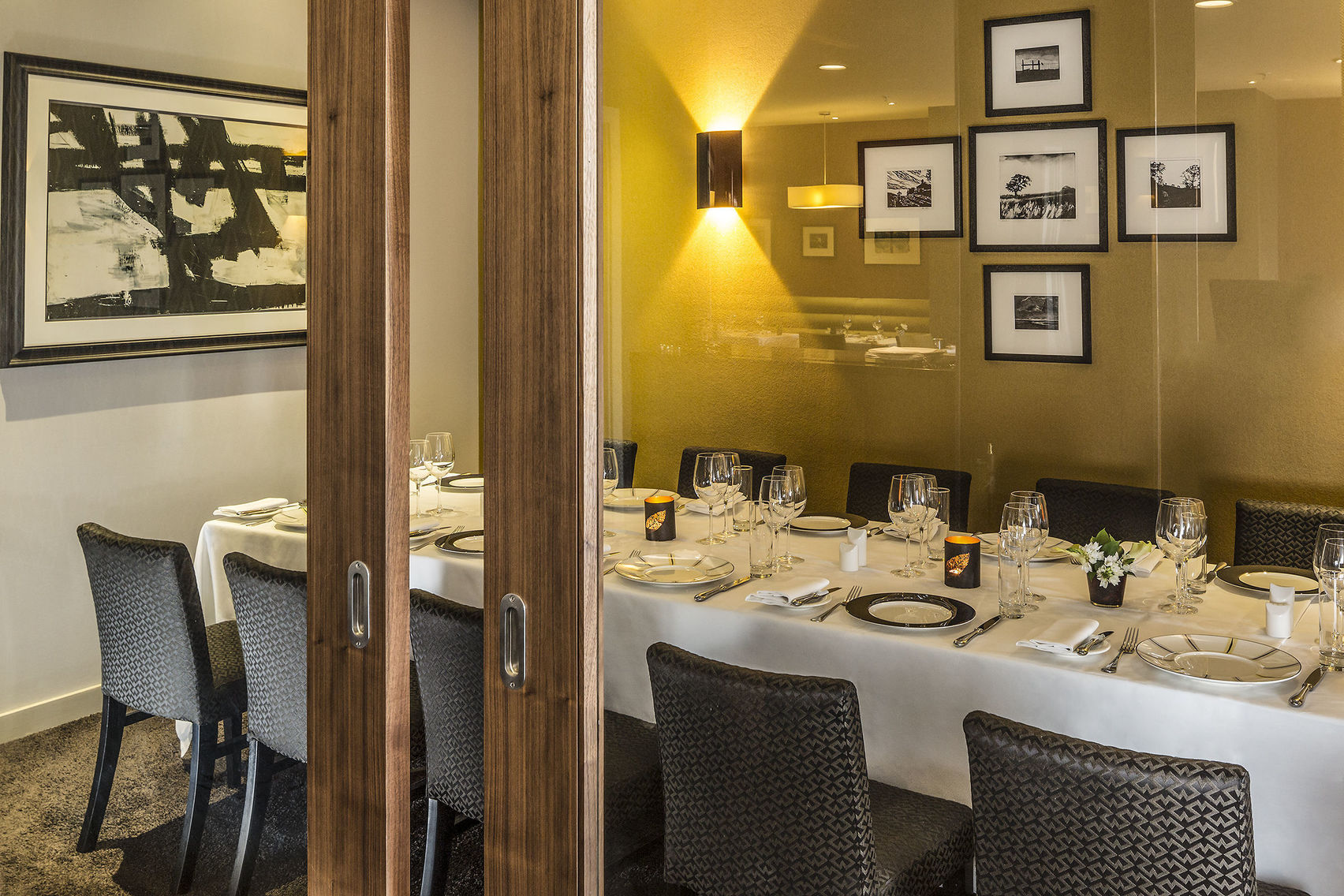 Private Dining Boardroom, Opus Restaurant