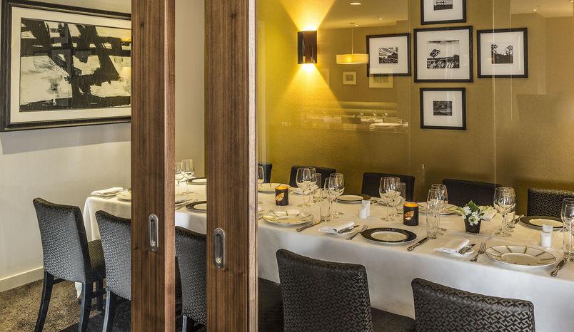 Private Dining Boardroom, Opus Restaurant