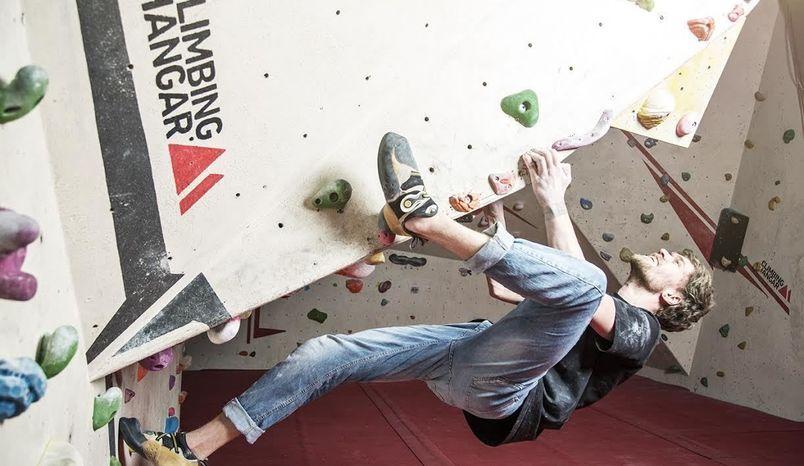 Indoor Bouldering Centre, The Climbing Hangar