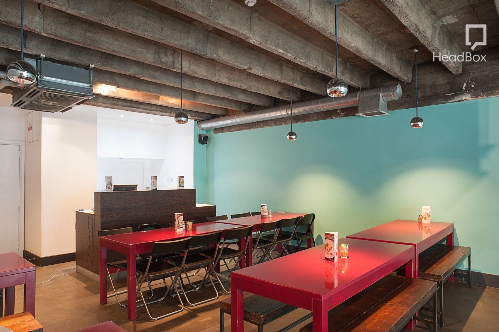 Private Dining Room, Hummus Bros Holborn