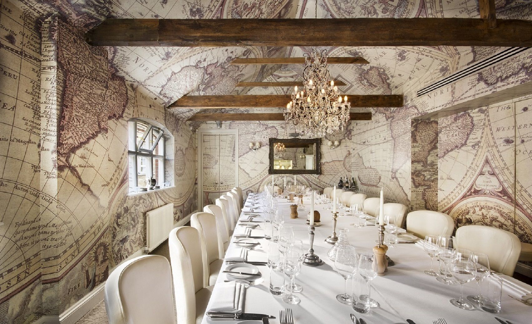 Chef's Private Dining Room, Mews of Mayfair