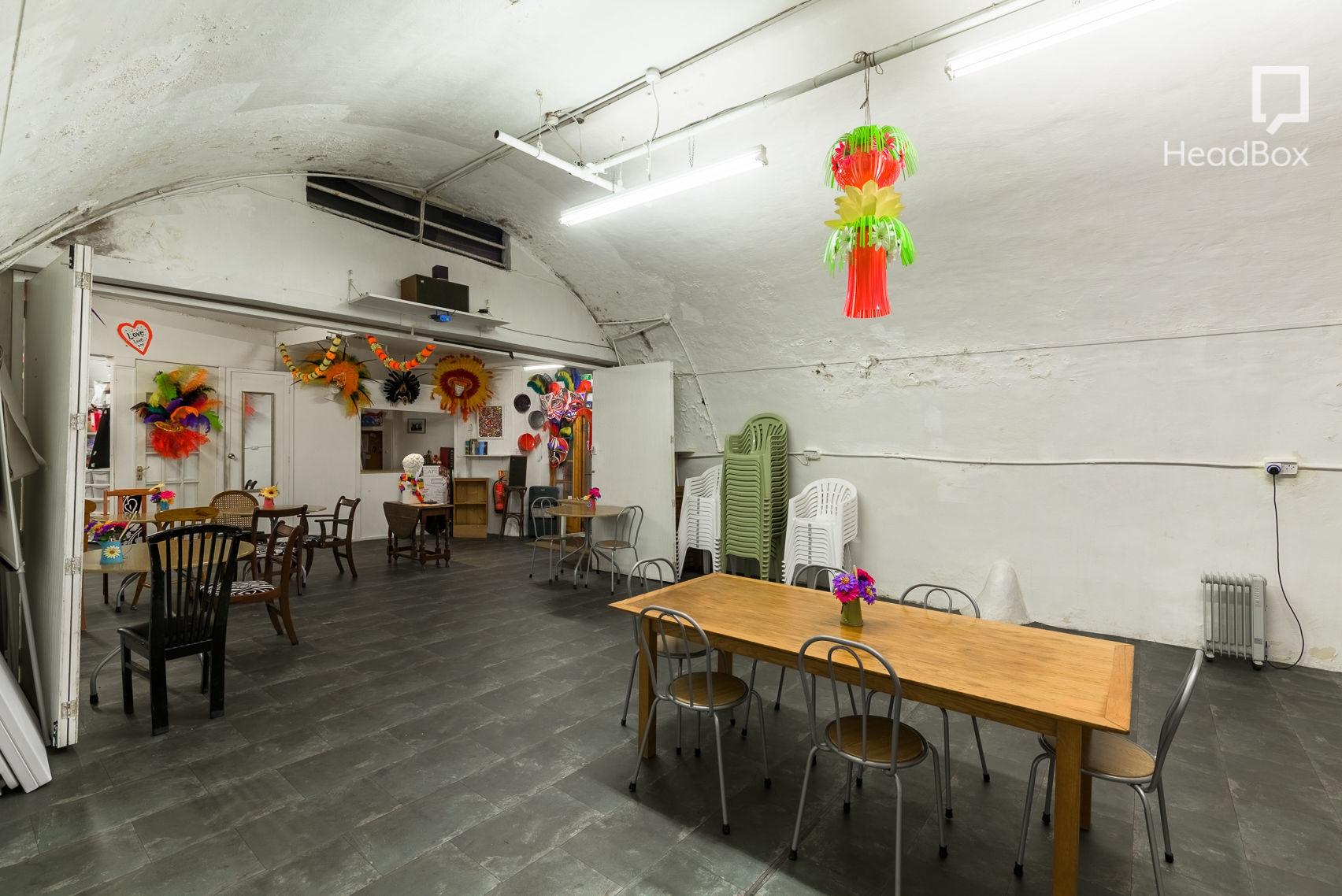 Bar and Main Arch Space, C.A.F.E Sunshine international Arts