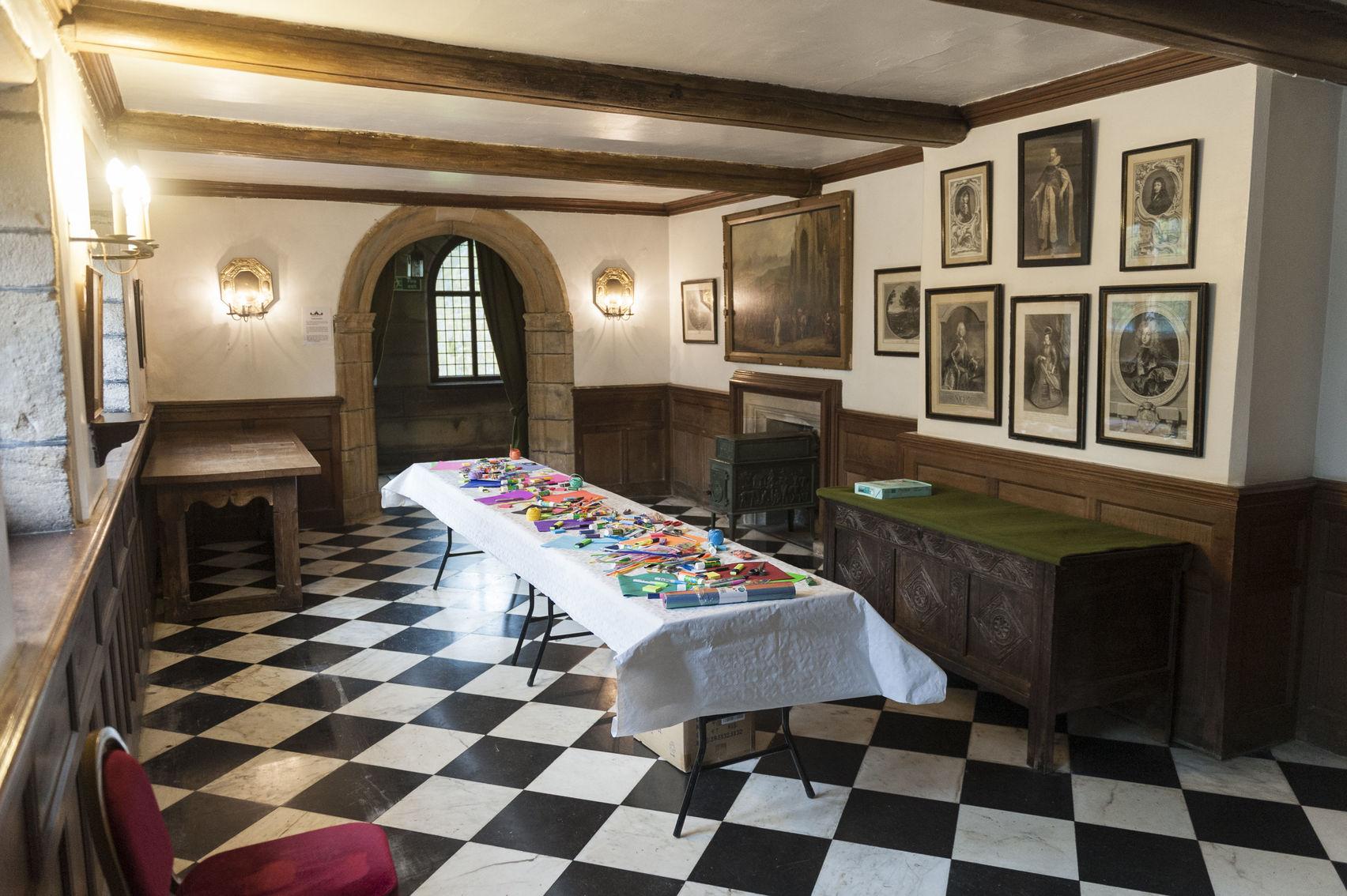 The Smoking Room & King's Hall, Hoghton Tower