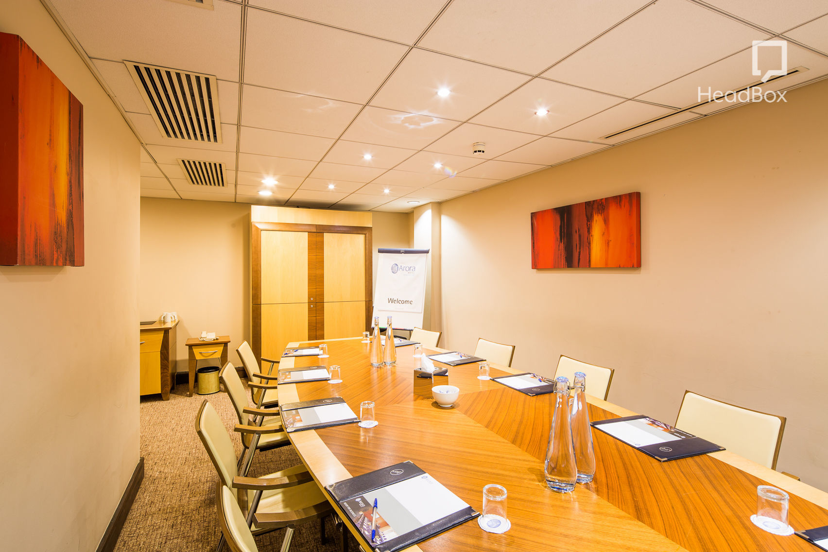 Executive Boardrooms, Arora Hotel Manchester