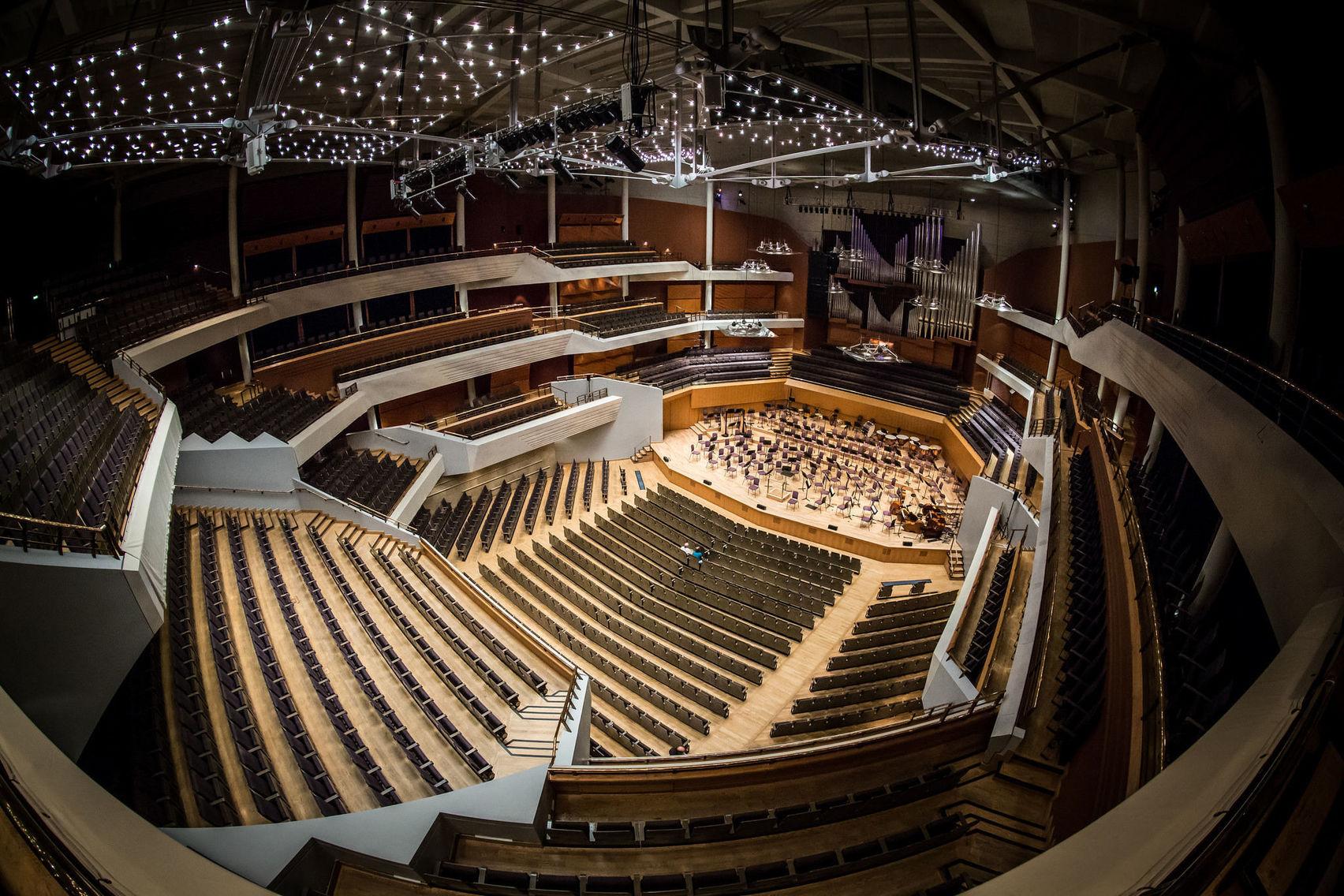 The Auditorium, Bridgewater Hall