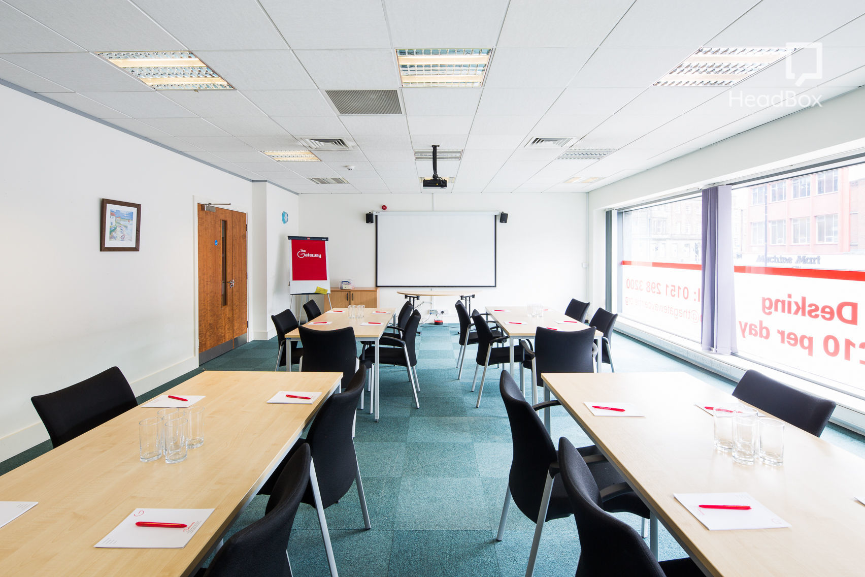Conference Room 2, Gateway Conference Centre