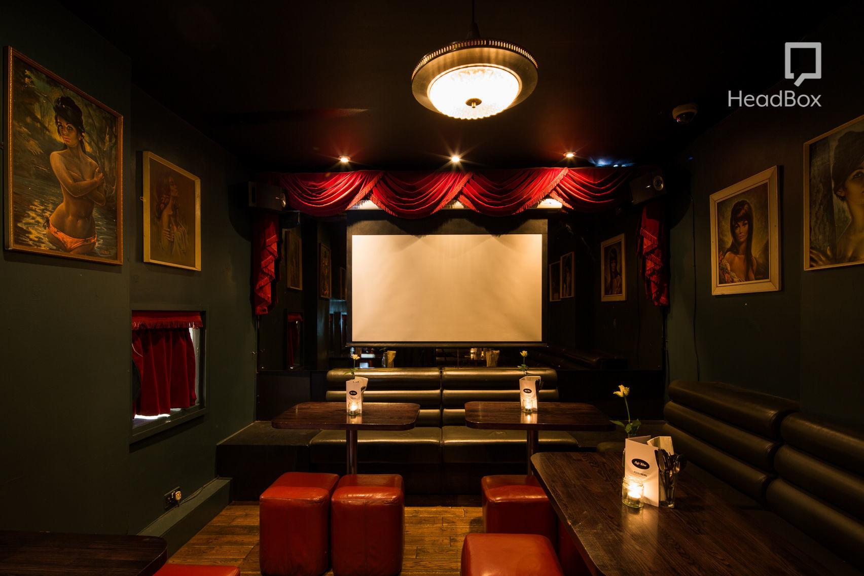 Cinema Room, Cafe Tabac