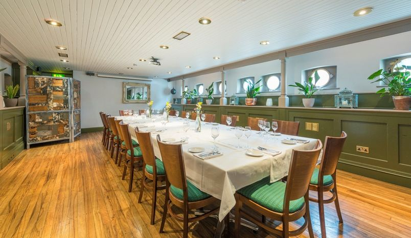 The Lower Deck - Private Dining and Meeting Room, Glassboat Restaurant