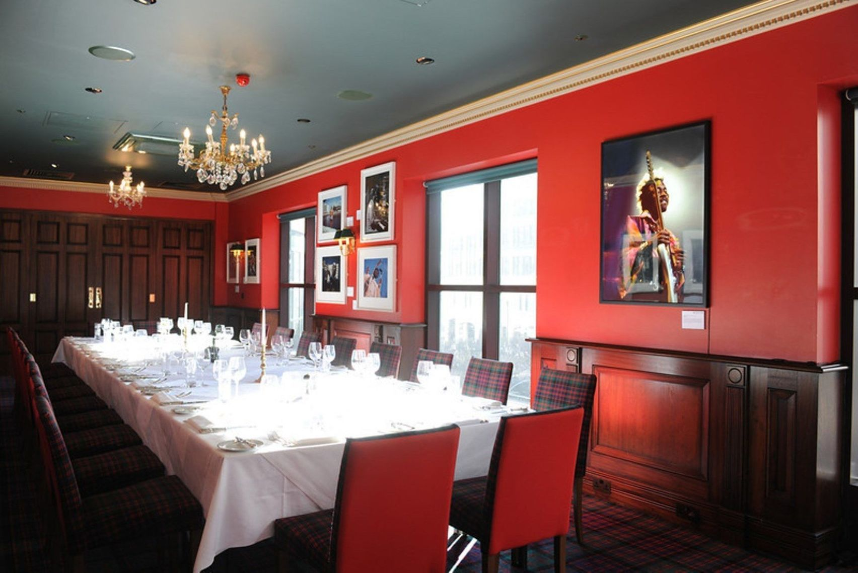 The Boisdale Fleming Gallery Room, Boisdale of Canary Wharf