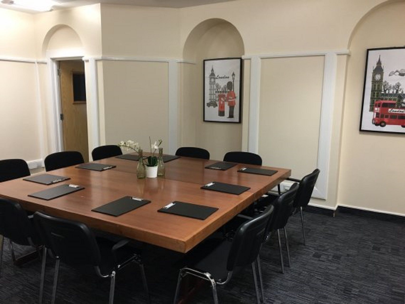 Perfectly located and generously proportioned, GCCS- The London Room