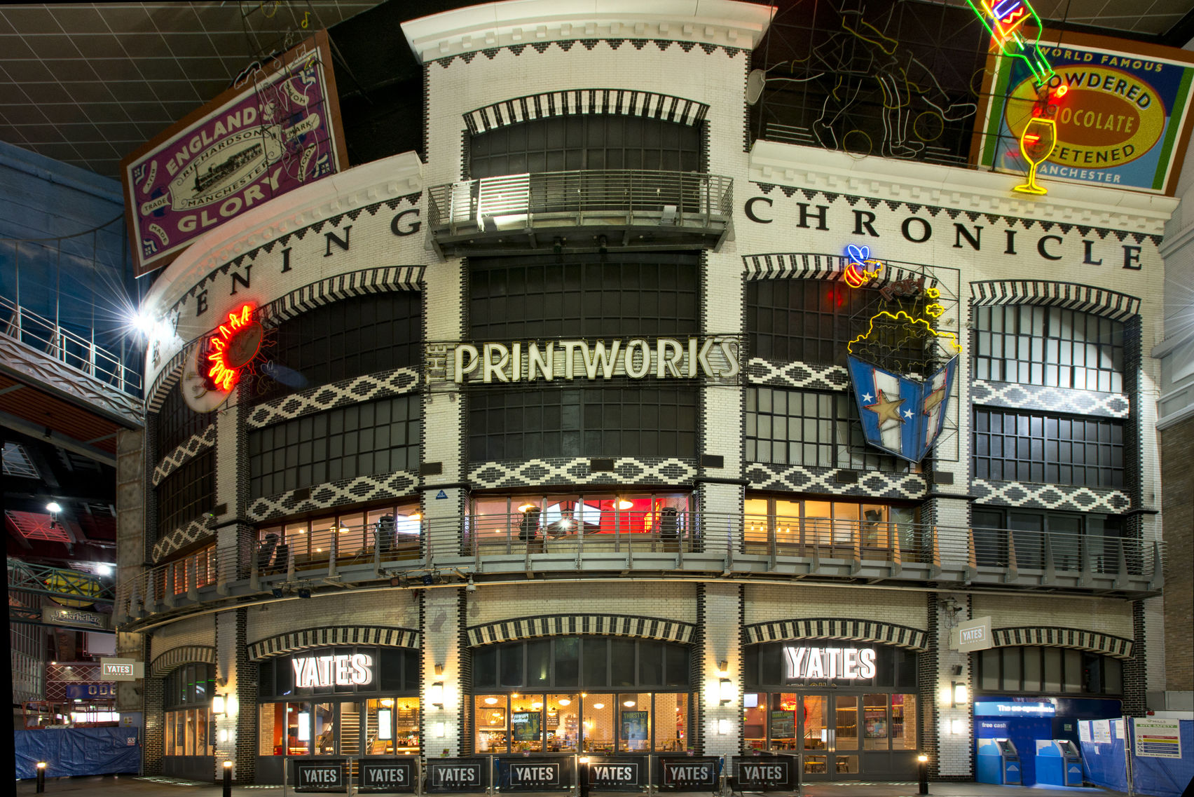 Stunning city centre venue with no hire fee, Yates Printworks