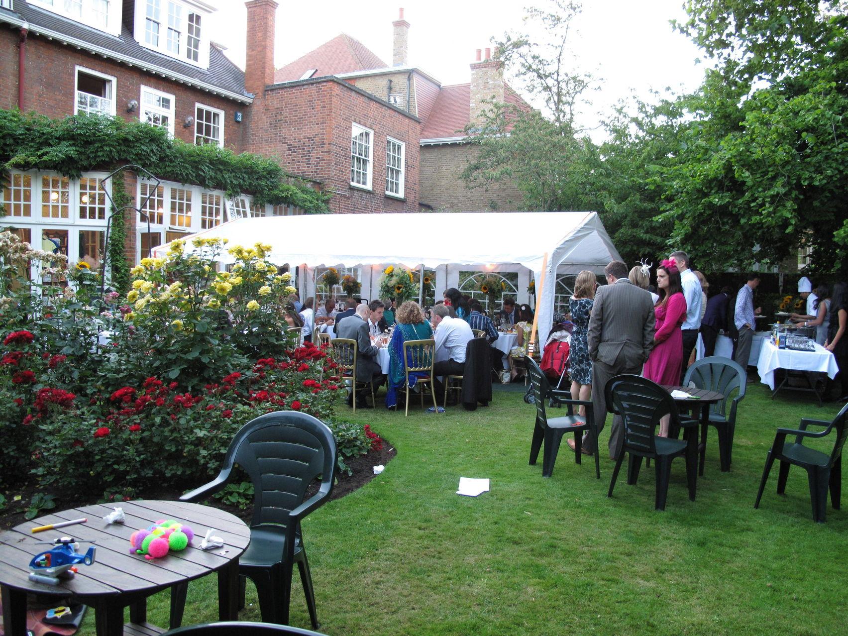 Garden, Freud Museum London
