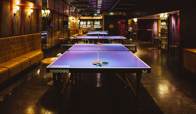 Private Rooms, Bounce, Farringdon - The Home of Ping Pong