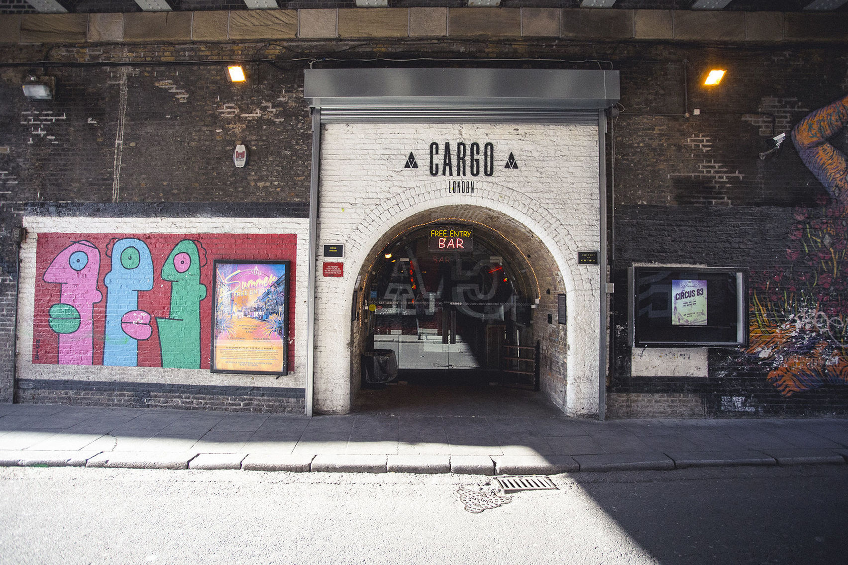 CARGO, Spacious venue for hire with all extras included